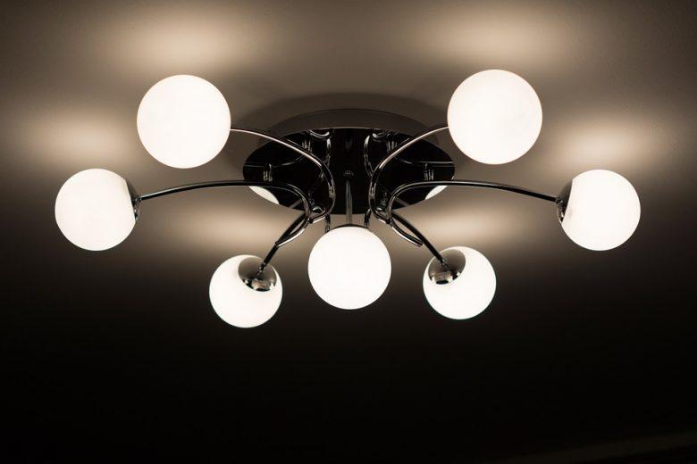 Utilizzando sport lampade per decorazione della stanza